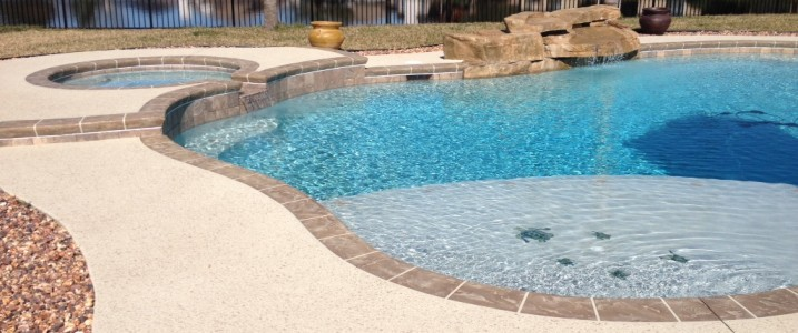 total pool deck re-model - coastal coating & resurfacing