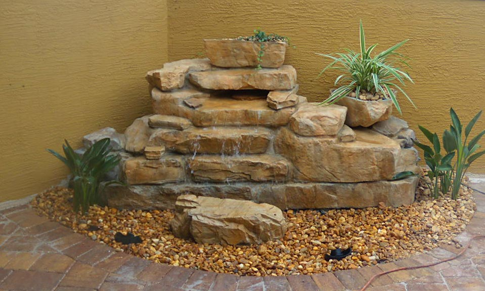 Small Pond Waterfall Designs